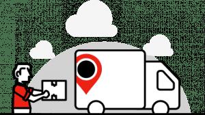 JamVans Removals Packing Van Picture