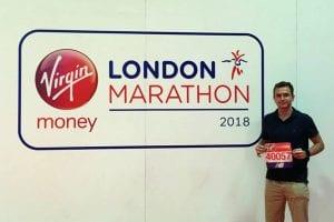 Hertfordshire removal company running marathon