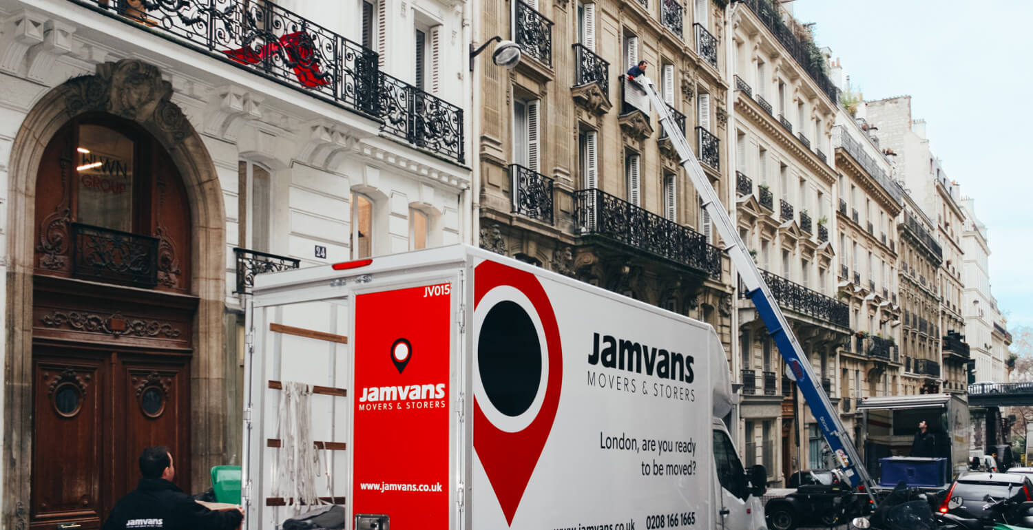JamVans Man & Van Removals to Paris