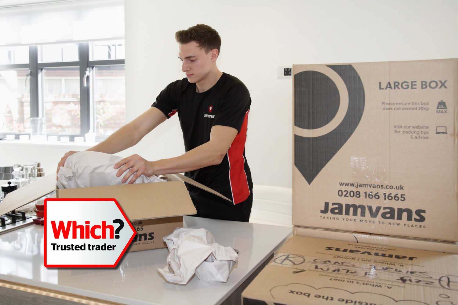 JamVans Man & Van Removals in London
